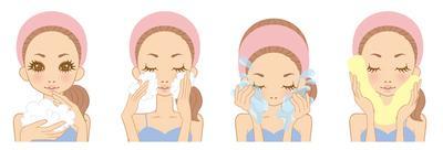 1. Mencuci Wajah dengan Benar
