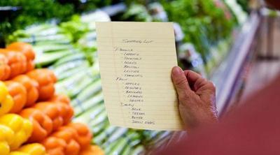 Gunakan Daftar Belanjaan untuk Mengkoordinasikan Makanan yang Akan Dikonsumsi Dalam Rencana Makan