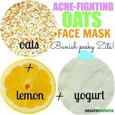 2. Oatmeal, Yogurt, dan Lemon