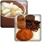 Scrub Gula Merah dan Bawang Putih