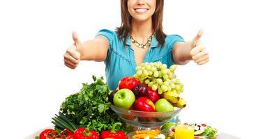 Makan Buah, Sayur & Biji-bijian