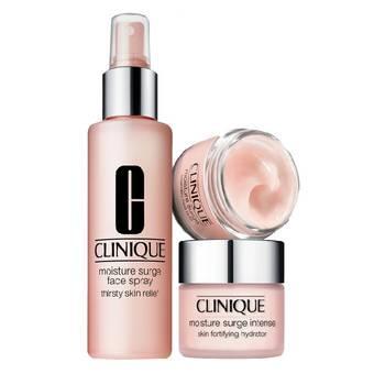 Clinique Moisture Surge Set: Face Spray 30ml + Gel Creme 15ml