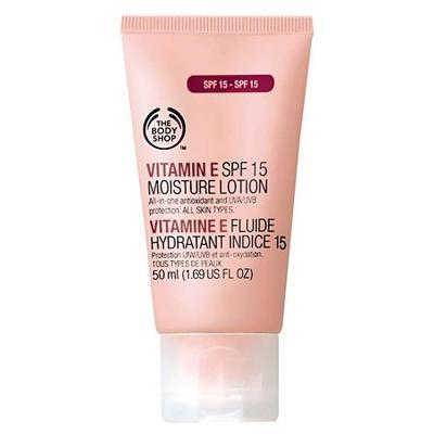 2. The Body Shop Vitamin E Spf15 Moisture Lotion