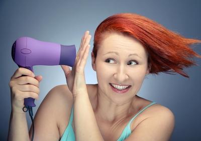5. Penggunaan Hair-dryer