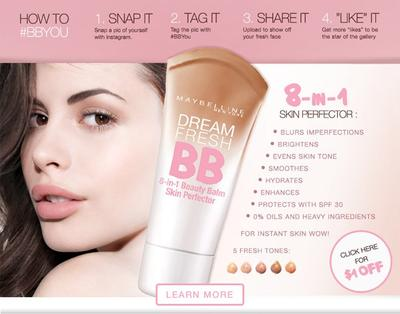 8 in 1 BB Cream
