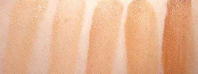 Tekstur & Shade yang Tersedia