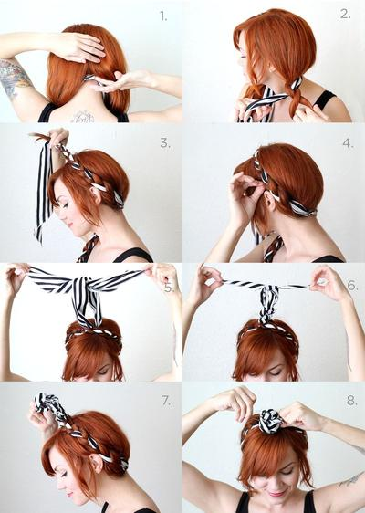 5. Fabric Maiden Braids