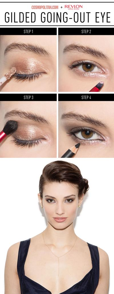 Brown Shimmery Eyes