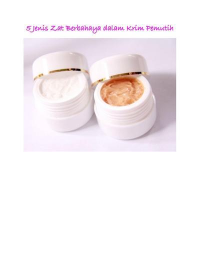 Kenali Bahan Kimia Berbahaya dalam Produk Whitening