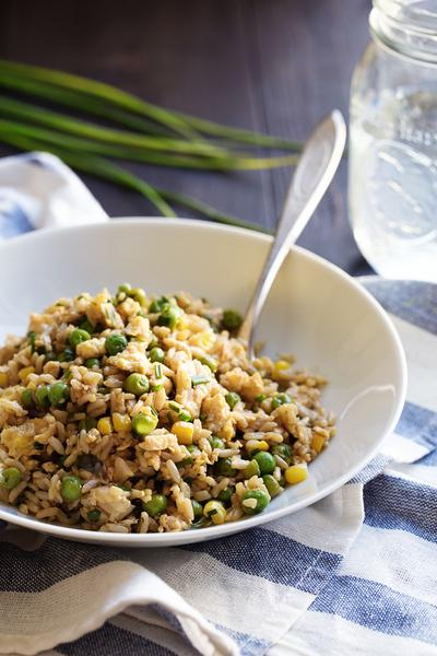 Nasi Goreng Vegetarian Sederhana