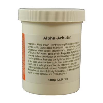 Alpha Arbutin dari Ekstrak Tumbuhan