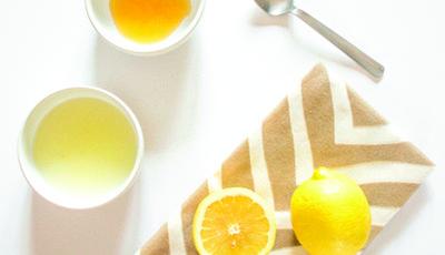 4. Masker Lemon dan Putih Telur