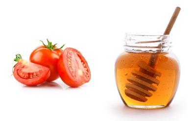 5. Masker dari Tomat, Susu Bubuk dan Madu