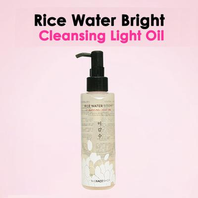 Review: The Face Shop Rice Water Bright Cleansing Light Oil