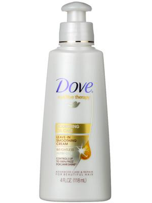 Dove Nourishing Oil Care Leave-In Smoothing Cream