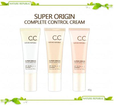 Review: Nature Republic Super Origin Complete Control Cream (CC Cream)