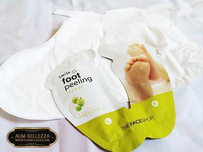 The Faceshop Smile Foot Peeling