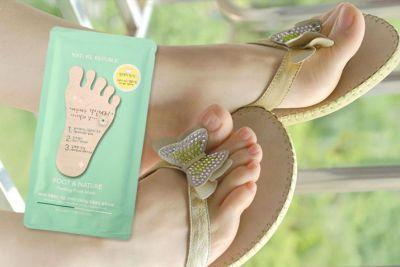 Nature Republic Foot Therapy Peeling Foot Mask