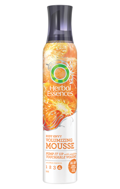 3. Herbal Essences Body Envy Volumizing Mousse