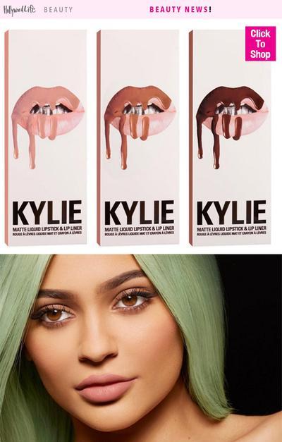 Kylie Jenner Lip kit Laris Terjual Kurang Dari 1 Menit