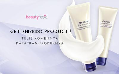 Beautynesia Special Shiseido Giveaway