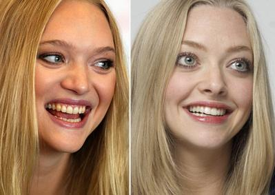 Gemma Ward dan Amanda Seyfried