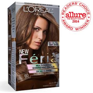 1. L'Oreal Feria Multi-Facted Shimmering Colour