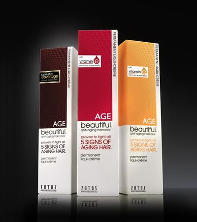 6. Zotos Age Beautiful Anti-Aging Permanent Liqui-creme Haircolor