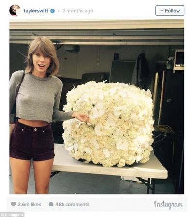 Karangan Bunga dari Kanye West