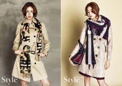 Pilih Mana: Selebriti Korea Tercantik Dengan Koleksi Musim Dingin Burberry