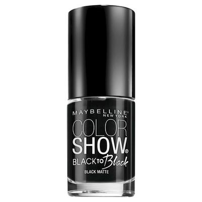 Maybelline Color Show Black Nails