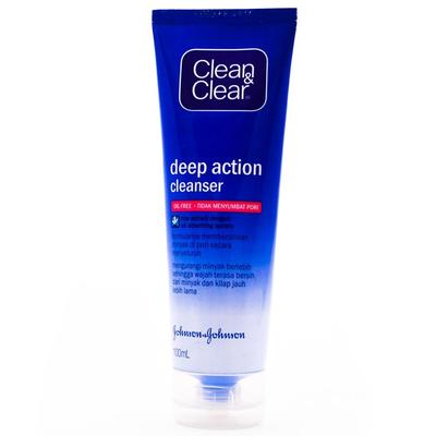 2. Clean and Clear Deep Action Cleanser
