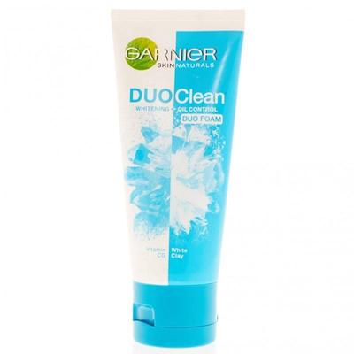4. Garnier Duo Clean Whitening and Oil Control