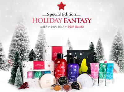 Koleksi Natal Missha Holiday Fantasy 2015