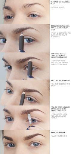 5. Gunakan Pensil Alis