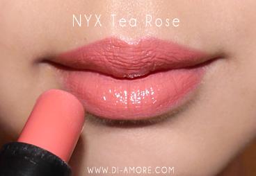 1. NYX Tea Rose