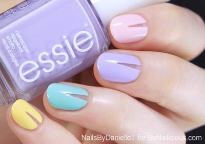 8 Inspirasi Nail Art Warna Pastel (Bagian 2)