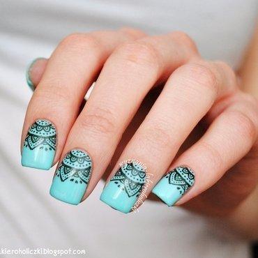 Berikut ini 8 inspirasi nail art warna pastel (part 2):