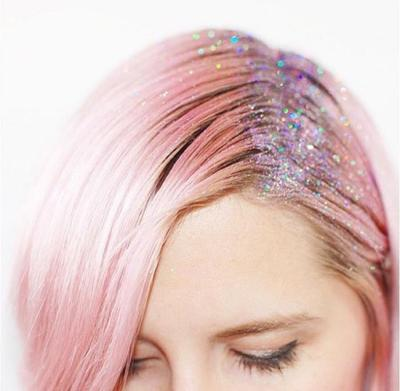 2. Glitter Roots