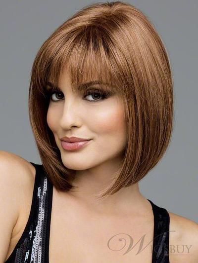 5. Sleek Graduated Bob