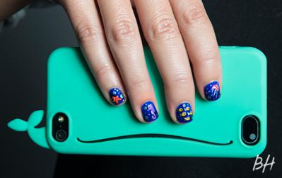 Nail Art dan Phone Case Bertema