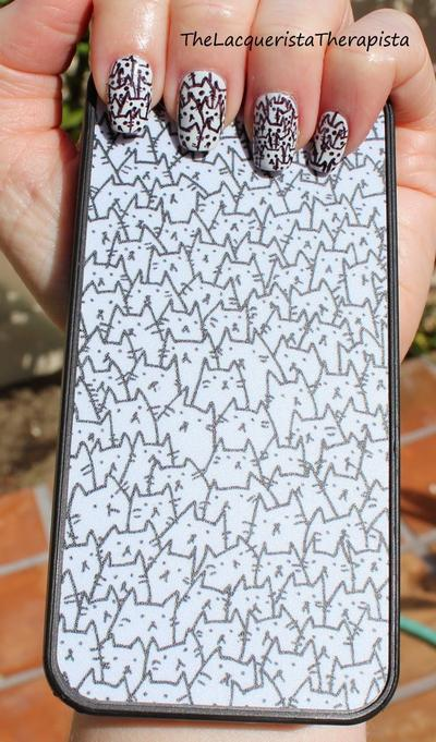 Nail Art dan Phone Case Kucing
