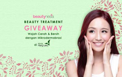 Beauty Treatment Giveaway: Mikrodermabrasi
