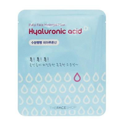 The Face Shop Baby Face Hydrogel Mask Hyaluronic Acid Sheet