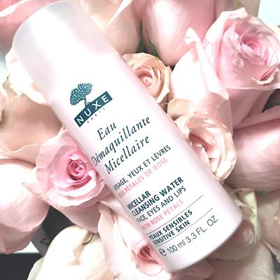2. Nuxe Micellar Cleansing Water with Rose Petals