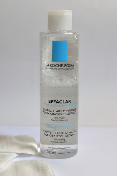 5. La Roche Posay Effaclar Micellar Water Purifying Micellar Water for Oily and Sensitive Skin