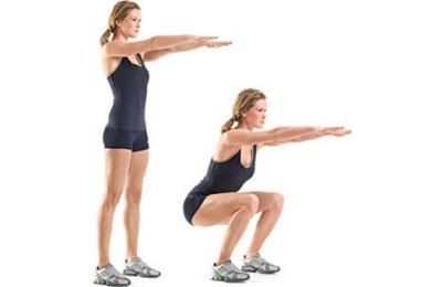 4. Step-Up & Squat