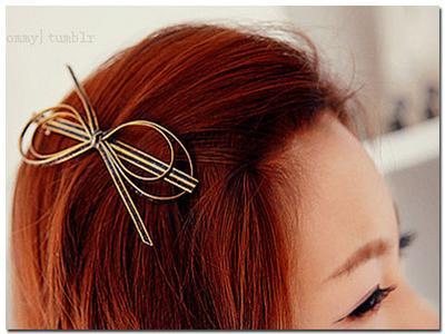 2. Gunakan Jepit Rambut