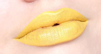 Selanjutnya, Lipstik Warna Kuning