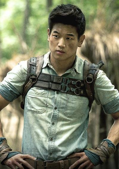 The Cool Asian Dude in The Maze Runner, Ki Hong Lee